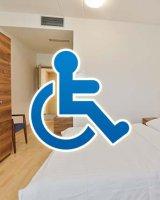 Behindertenfreundliche Zimmer